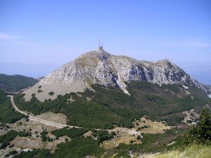 Looking forward to the views from Mt Lovcen