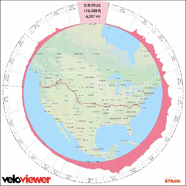 Fantastic Veloviewer wheel